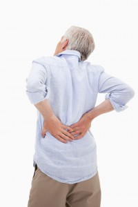 Albuquerque Premises Liability Lawyer Portrait of a man having a back pain